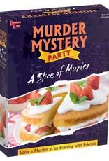 University Games Murder Mystery: A Slice of Murder