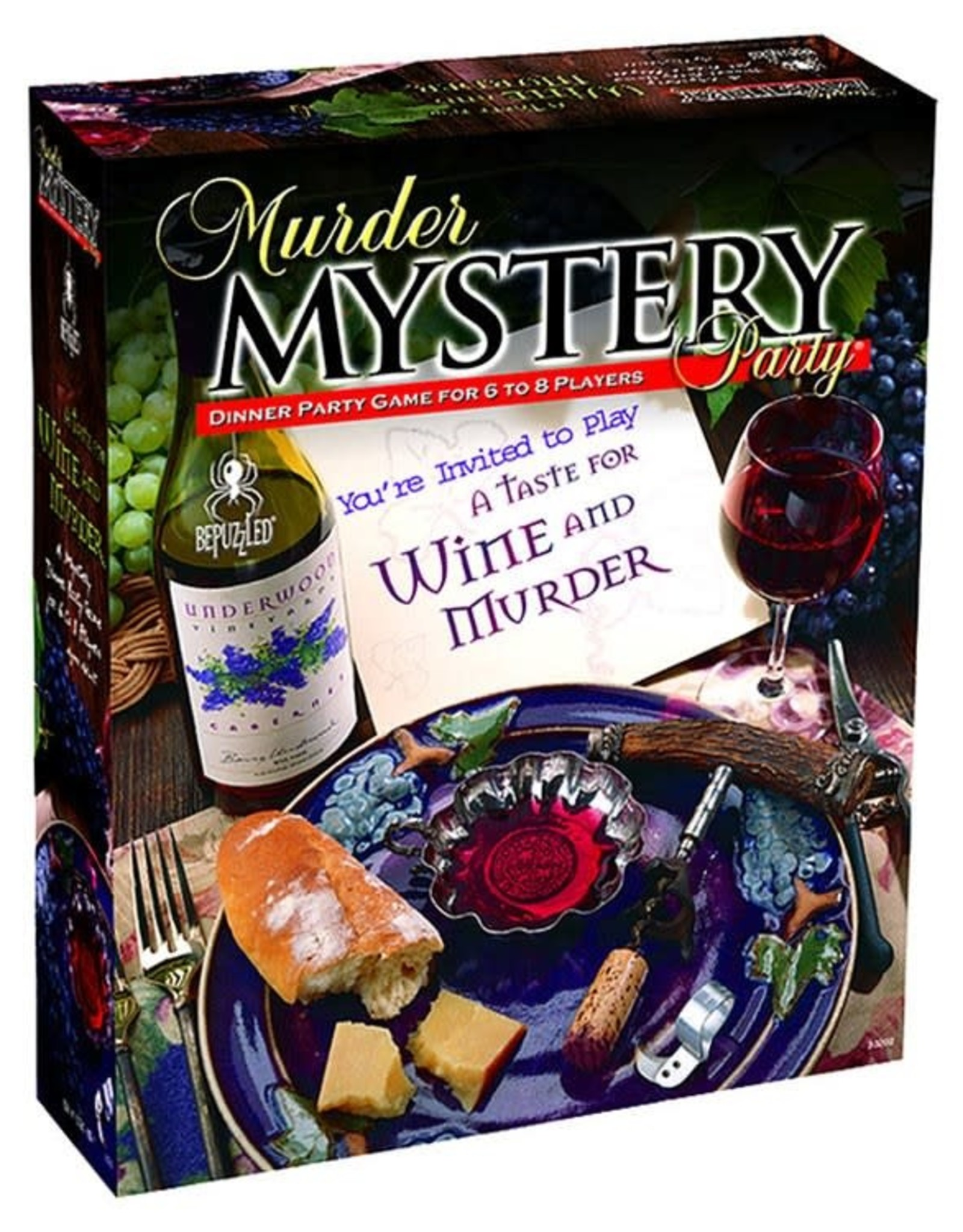 University Games Muder Mystery: A Taste for Wine and Murder