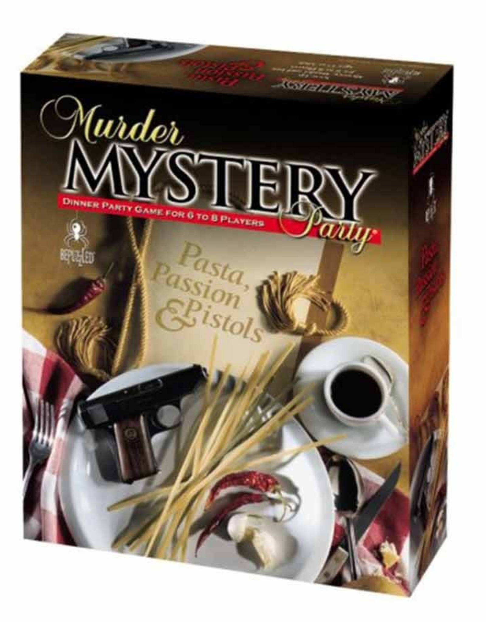 University Games Murder Mystery: Pasta, Pistols, Passion