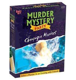 University Games Murder Mystery: Champagne Murders