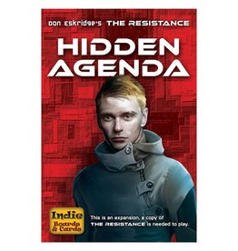 Indie Boards and Cards Resistance Hidden Agenda