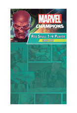 Fantasy Flight Games Marvel Champions LCG Game Mat: 1-4 Player Red Skull