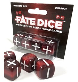 Evil Hat Productions Fate Dice: Infernal (4)