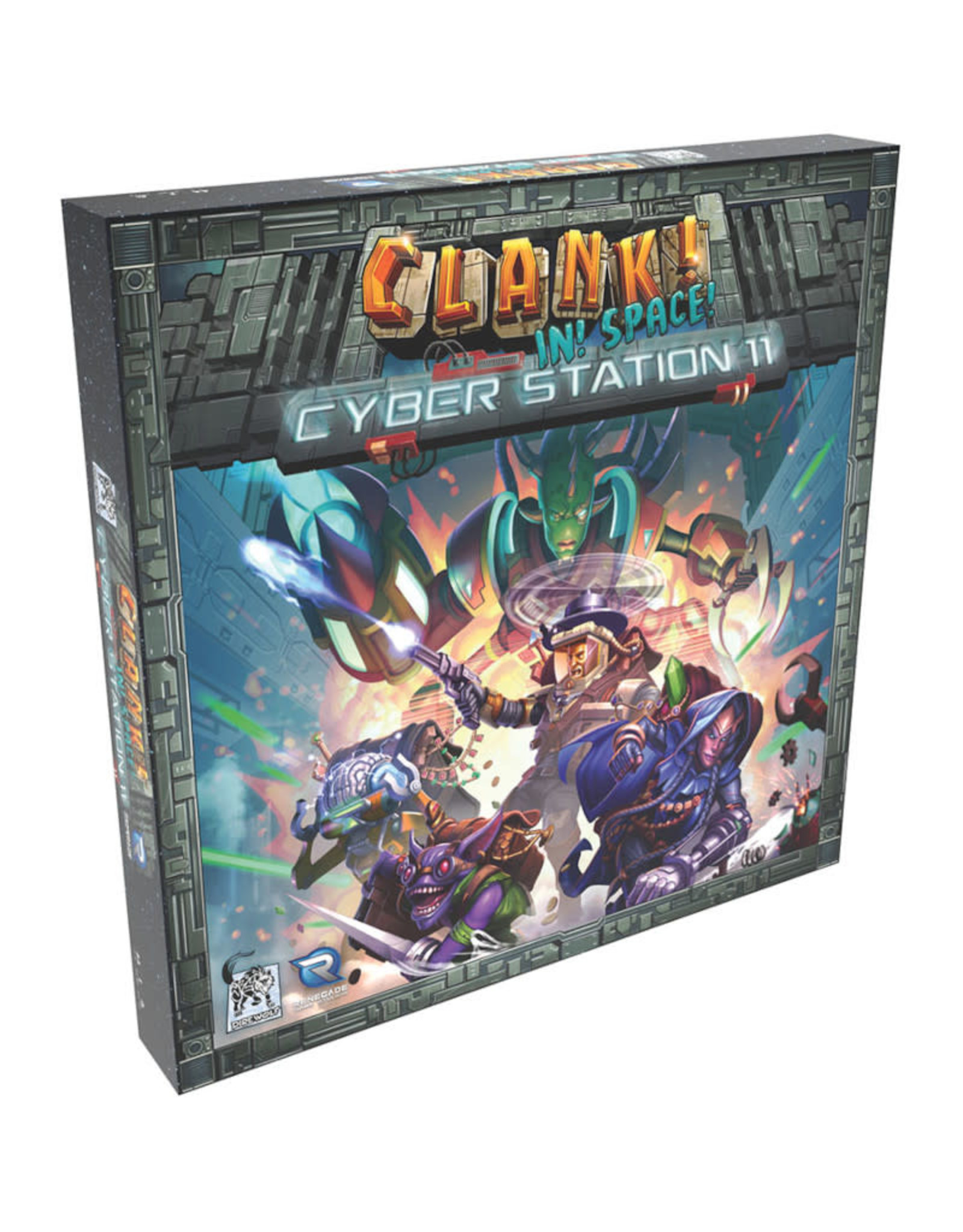 Renegade Games Clank! In! Space! Cyber Station 11