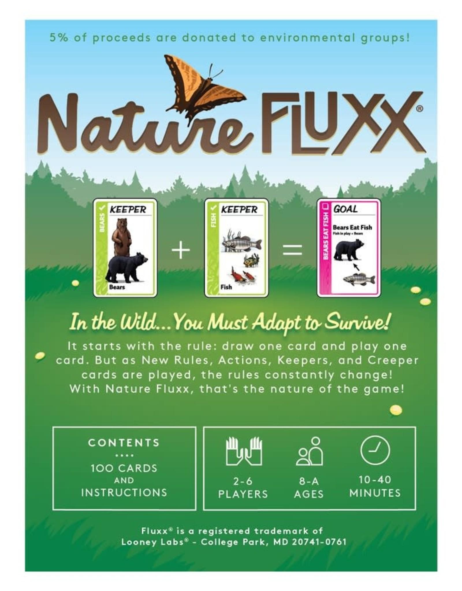 Looney Labs Fluxx Nature