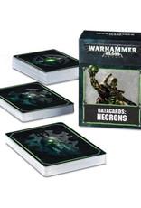 Games Workshop Warhammer 40K Datacards Necrons (8th Edition)