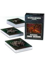 Games Workshop Warhammer 40K Datacards Chaos Daemons (8th Edition)