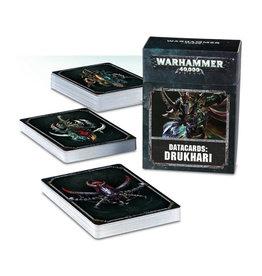 Games Workshop Warhammer 40K Datacards Drukhari (8th Edition)