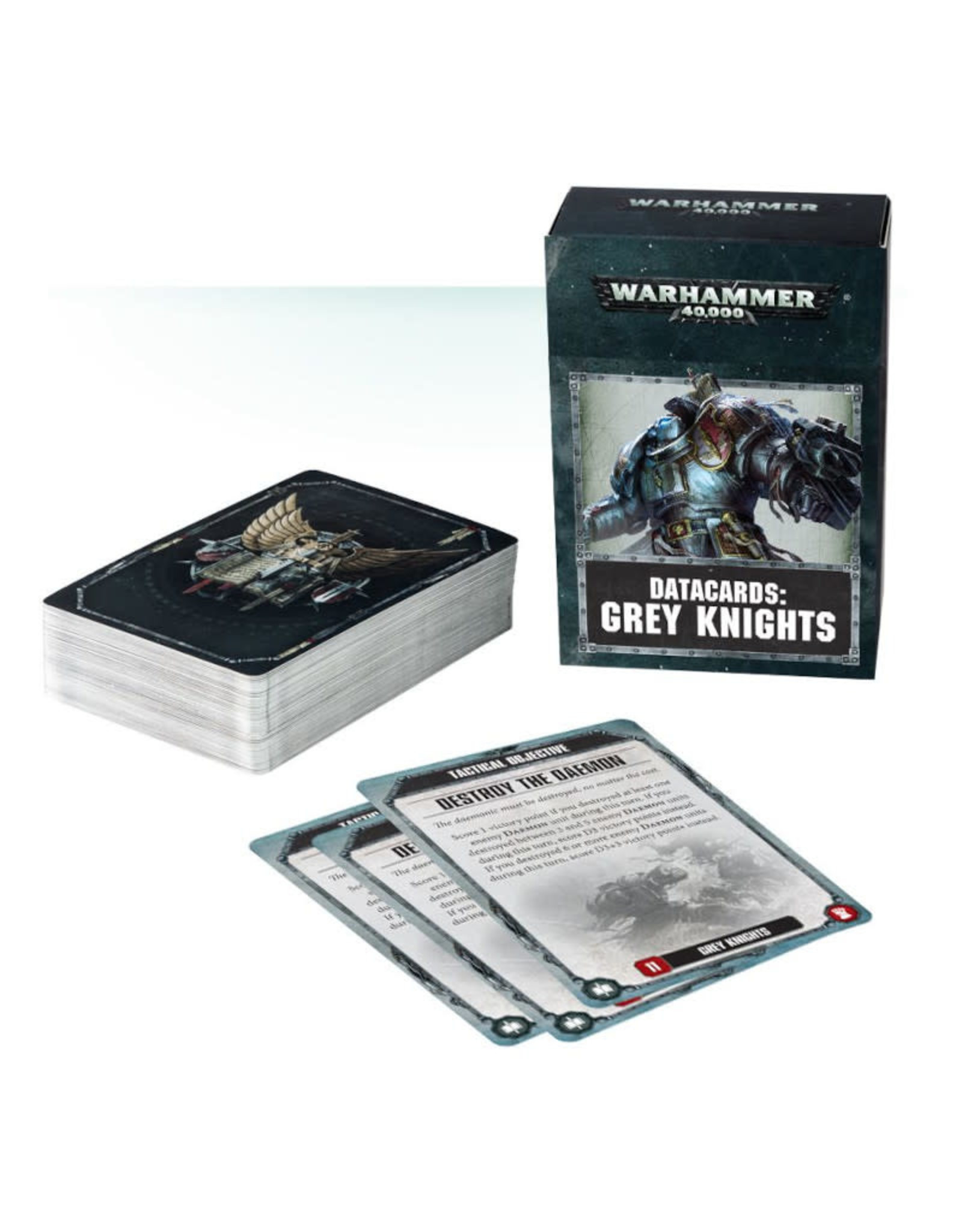 Games Workshop Warhammer 40K Datacards Grey Knights (8th Edition)