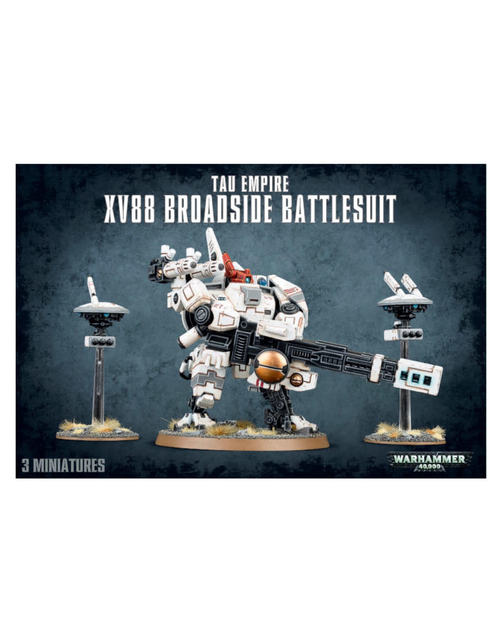 Games Workshop Warhammer 40K Tau Empire XV88 Broadside Battlesuit