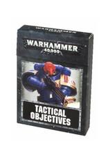 Games Workshop Warhammer 40K Tactical Objective Cards