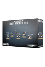 Games Workshop Warhammer 40K Space Marine Scouts With Sniper Rifles
