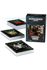 Games Workshop Warhammer 40K Datacards: Orks (8th Edition)