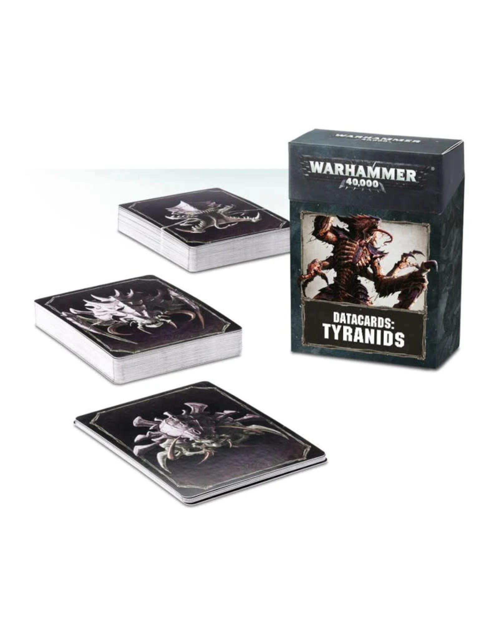 Games Workshop Warhammer 40K Datacards Tyranids (8th Edition)