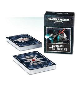 Games Workshop Warhammer 40K Datacards Tau Empire (8th Edition)