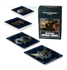 Games Workshop Warhammer 40K Datacards Imperial Knights (8th Edition)