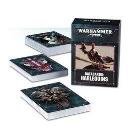Games Workshop Warhammer 40K Datacards Harlequins (8th Edition)