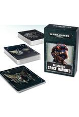 Games Workshop Warhammer 40K Datacards Space Marines (8th Edition)