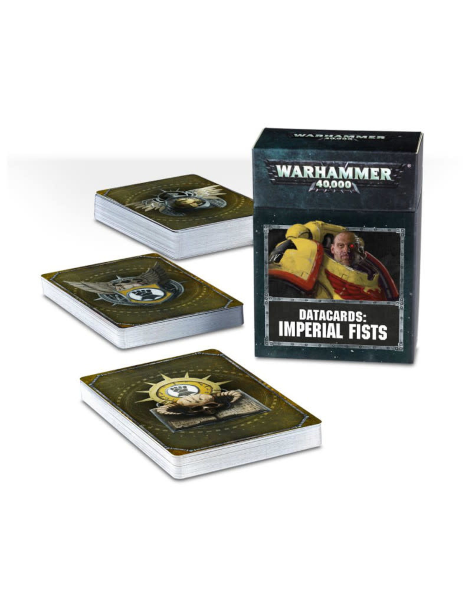 Games Workshop Warhammer 40K Datacards Imperial Fists (8th Edition)