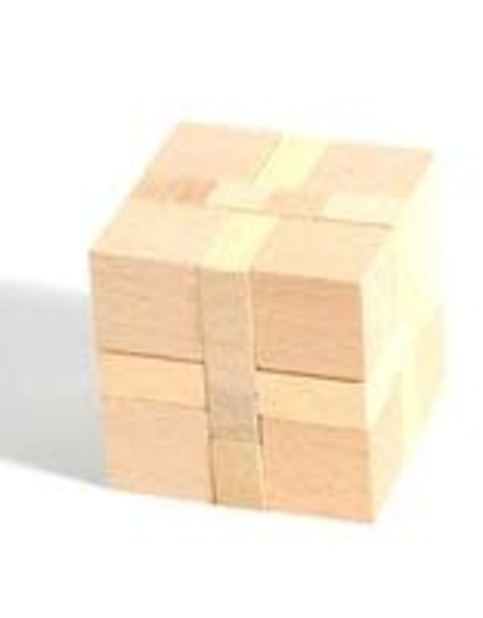 Wooden Puzzle: Cube