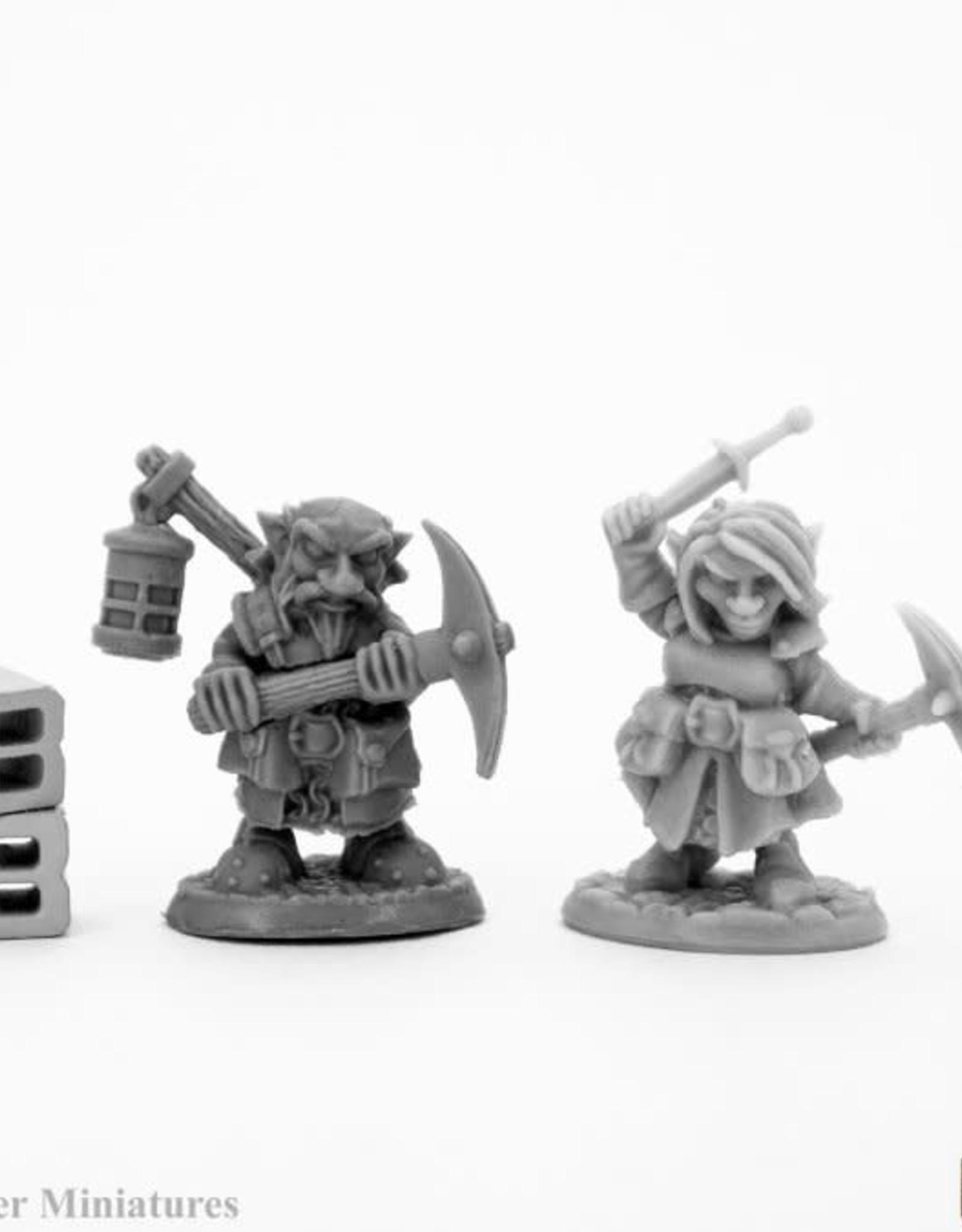 Reaper Bones: Deep Gnome Heroes