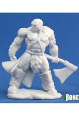 Reaper Bones: Goldar, Male Barbarian