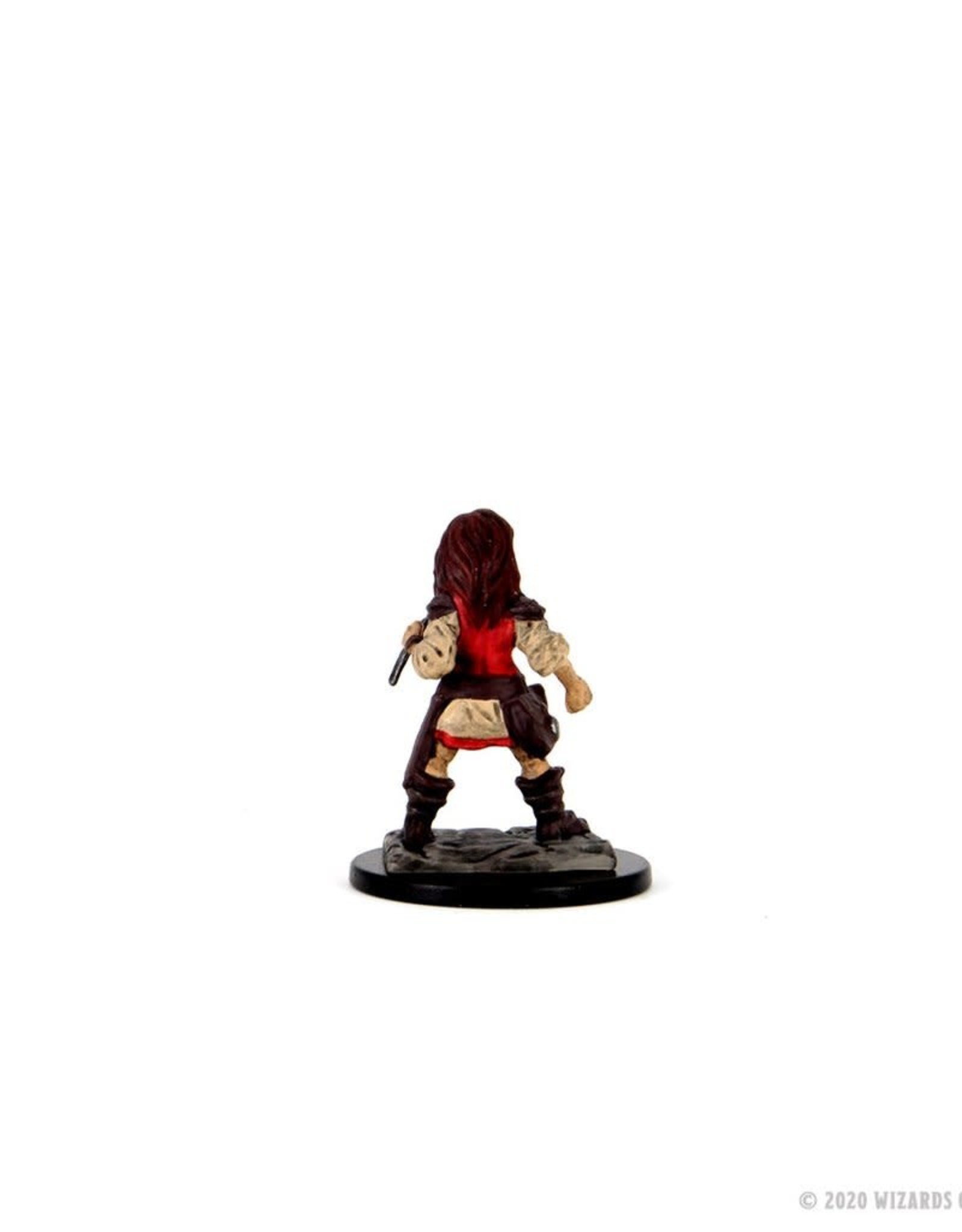 Wizkids D&D Premium Figure: Halfling Rogue Female