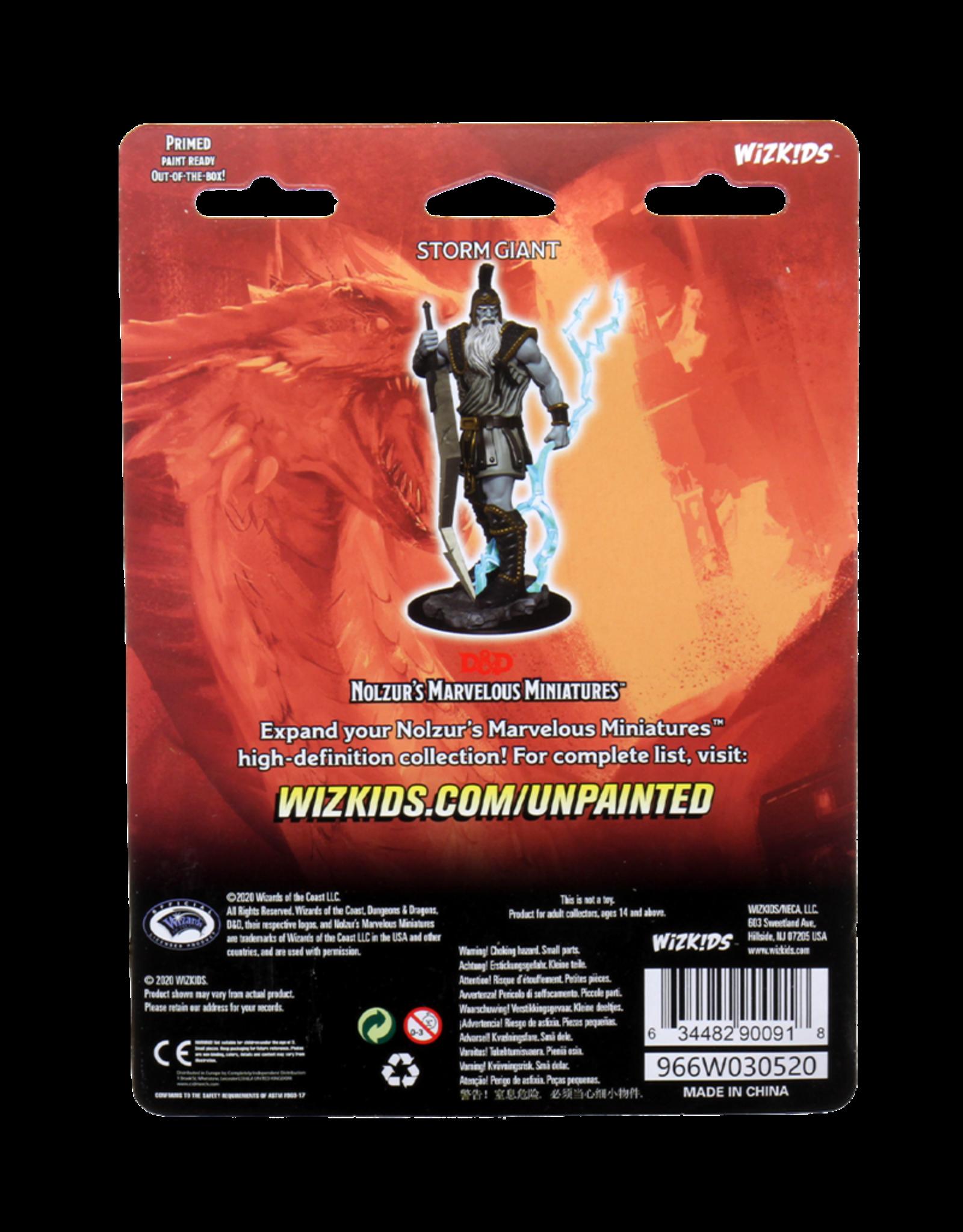 Wizkids D&D Unpainted Minis: Storm Giant