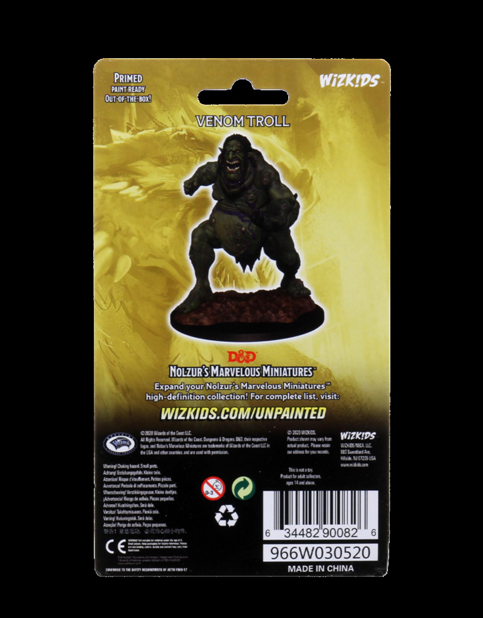 Wizkids D&D Unpainted Minis: Venom Troll