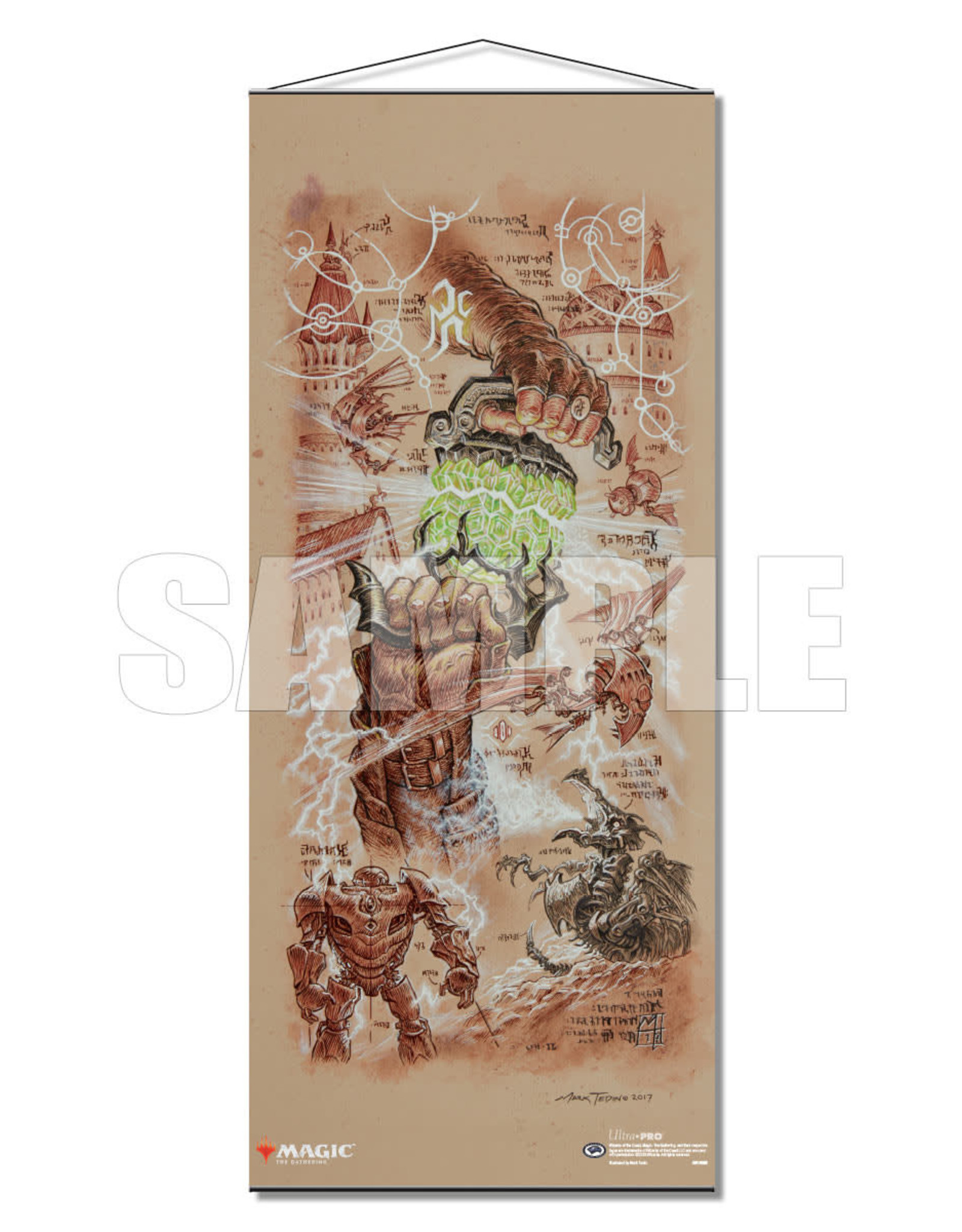 MTG Dominaria Wall Scroll (Antiquities War)
