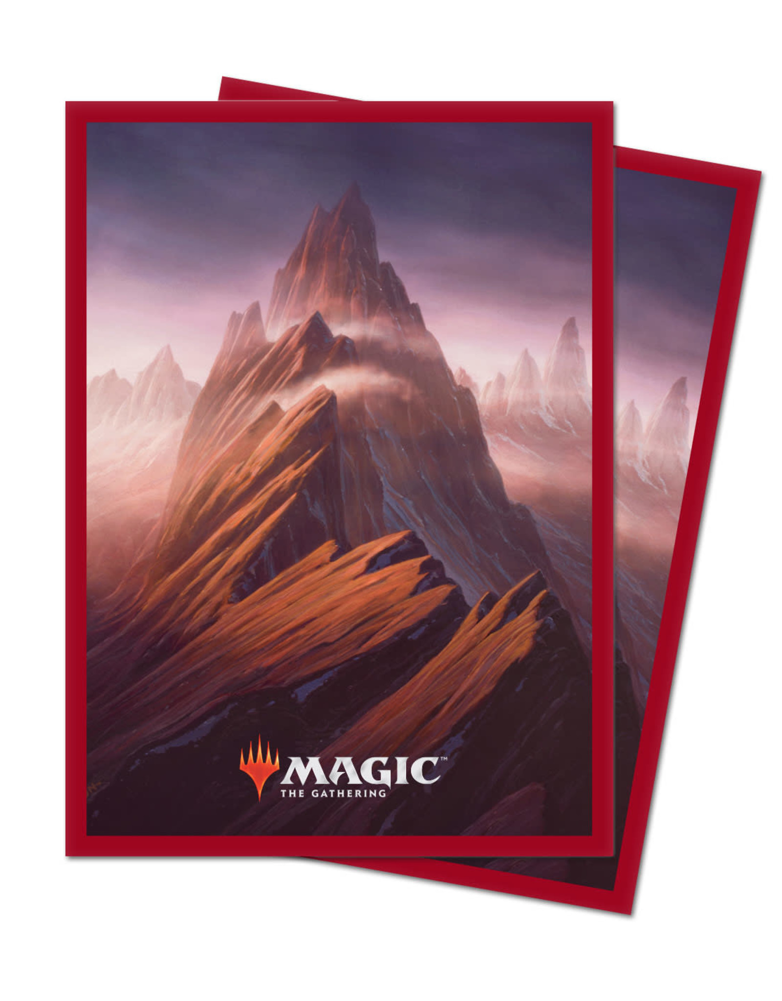 Sleeves MTG Unstable Mountain (100)