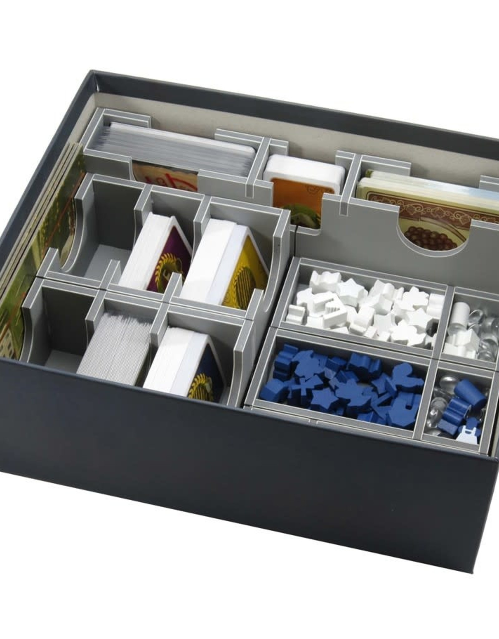 Folded Space Box Insert: Viticulture and Expansions