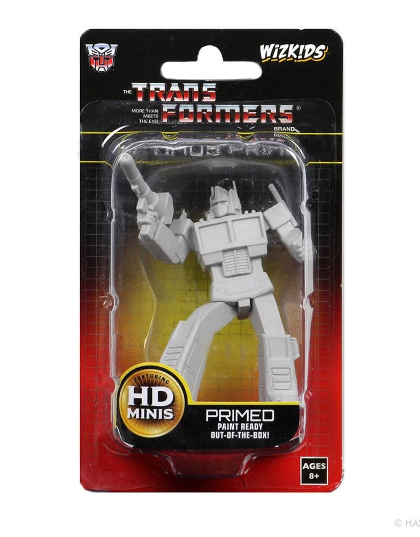 Wizkids Transformers Unpainted Minis: Optimus Prime