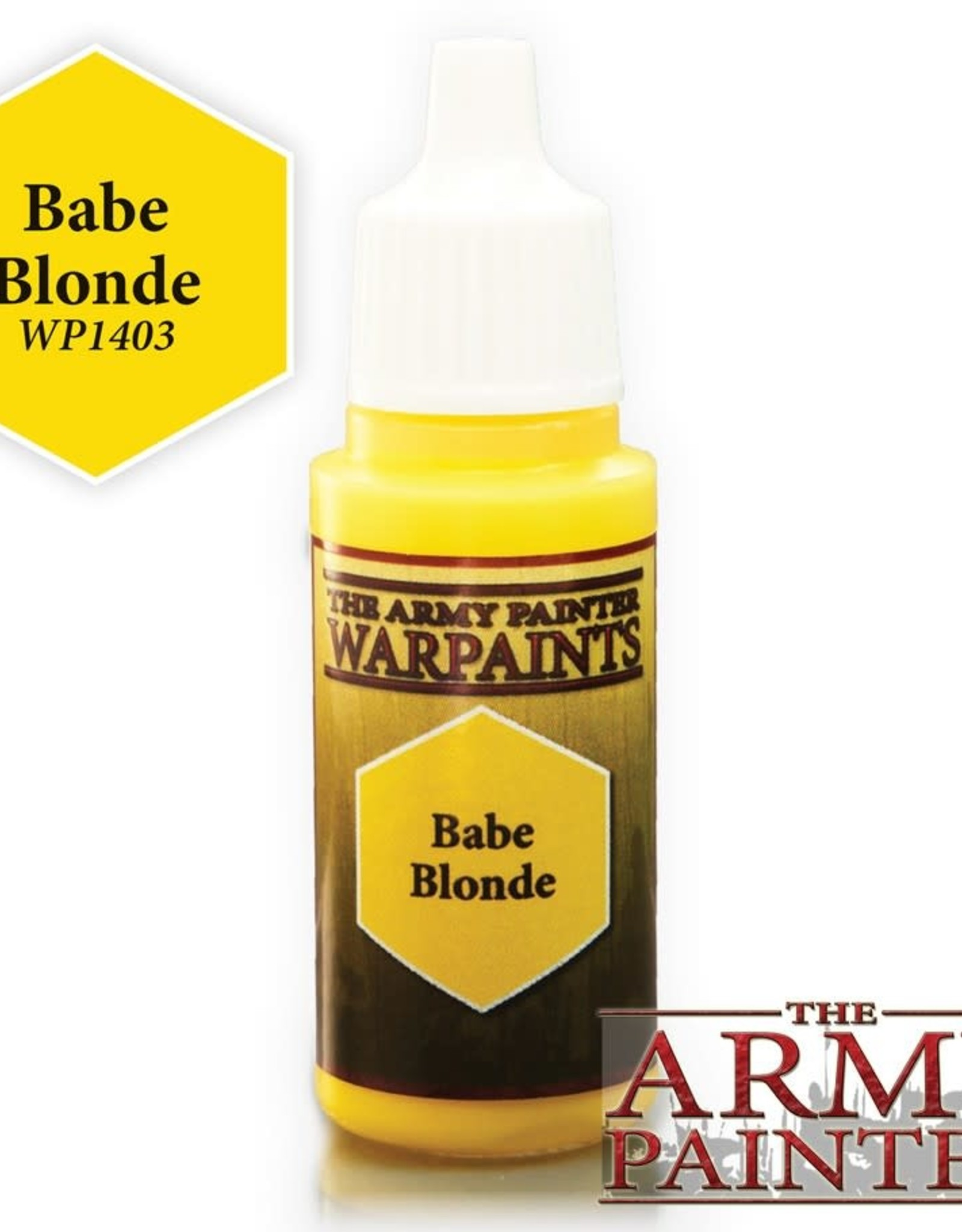 Warpaints: Babe Blonde