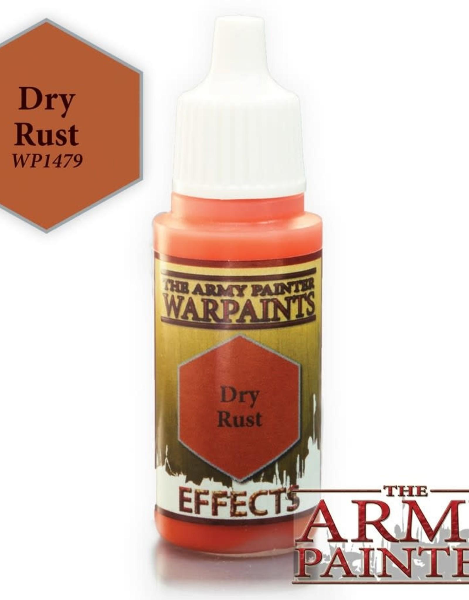 Warpaints:  Dry Rust