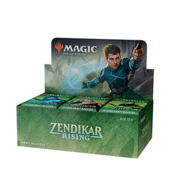Wizards of the Coast MTG Zendikar Rising Draft Booster Box (36)