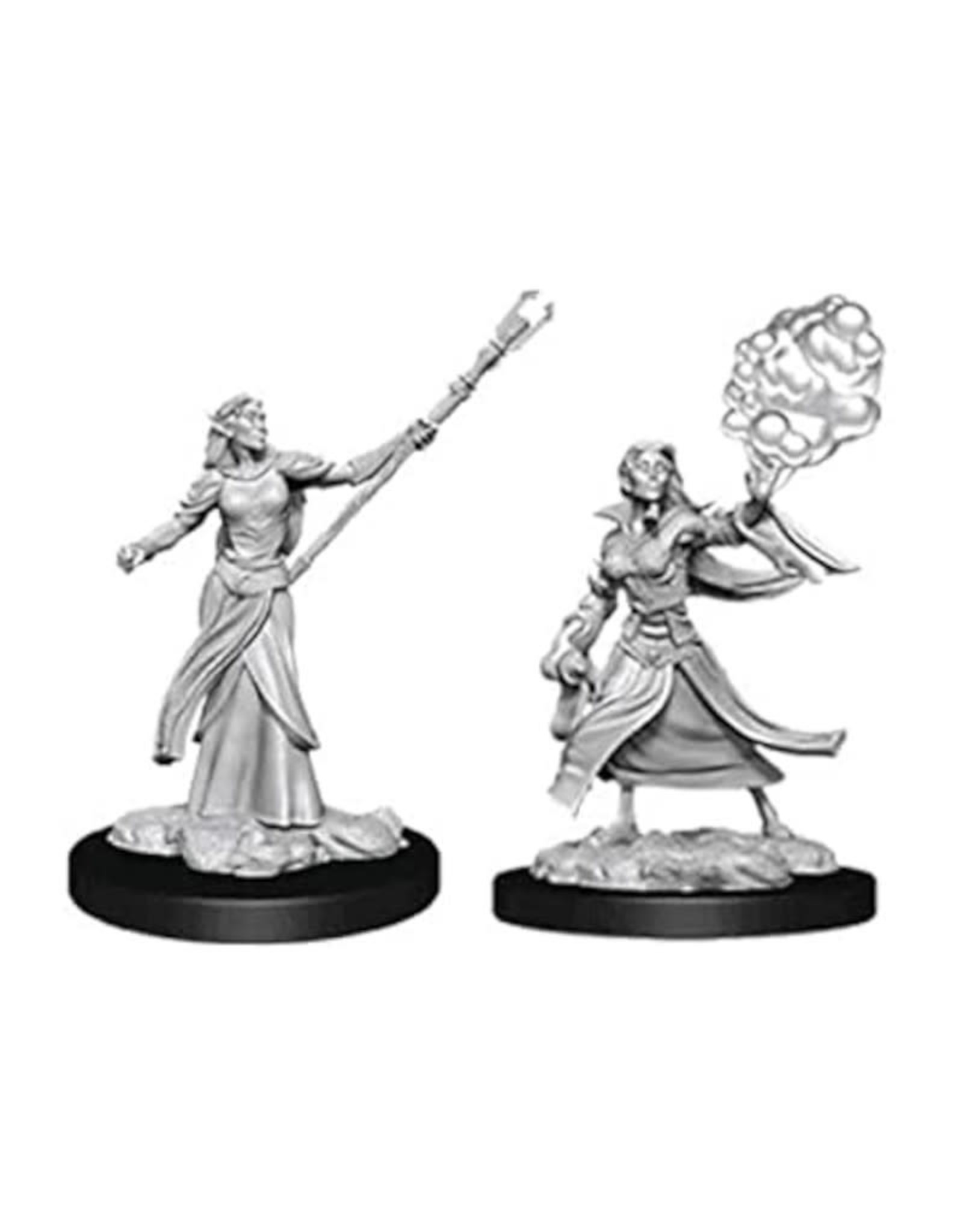 Wizkids D&D Unpainted Minis: Elf Sorcerer Female