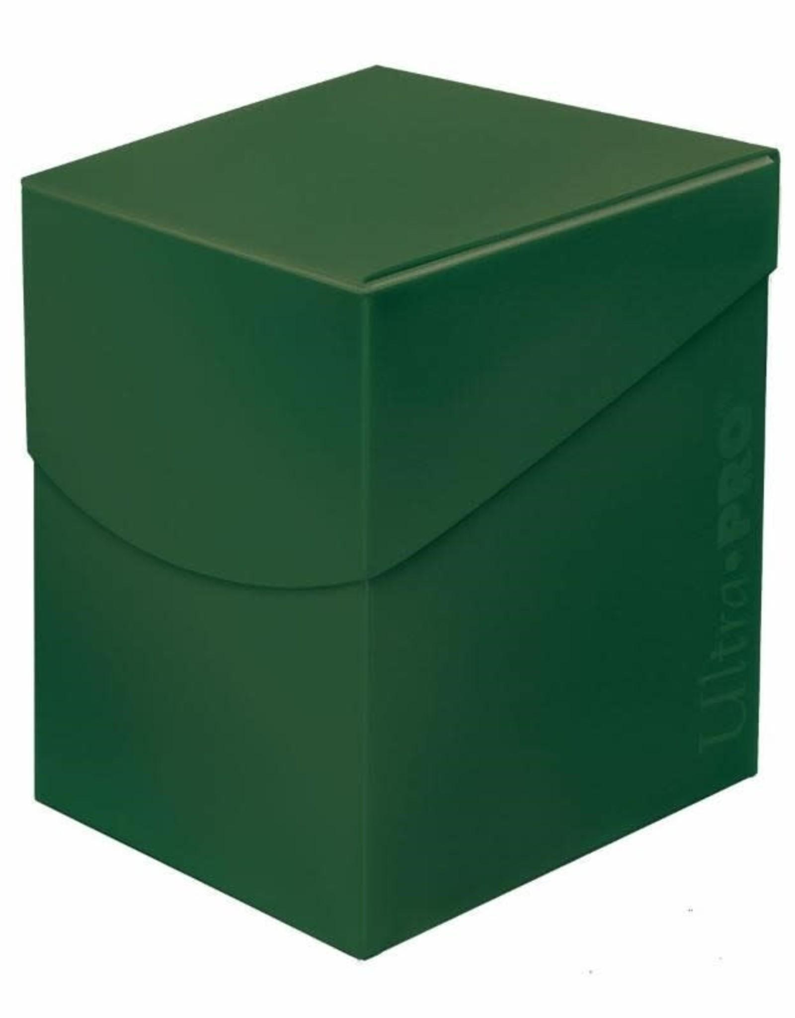 Deck Box: Eclipse 100+ Forest Green
