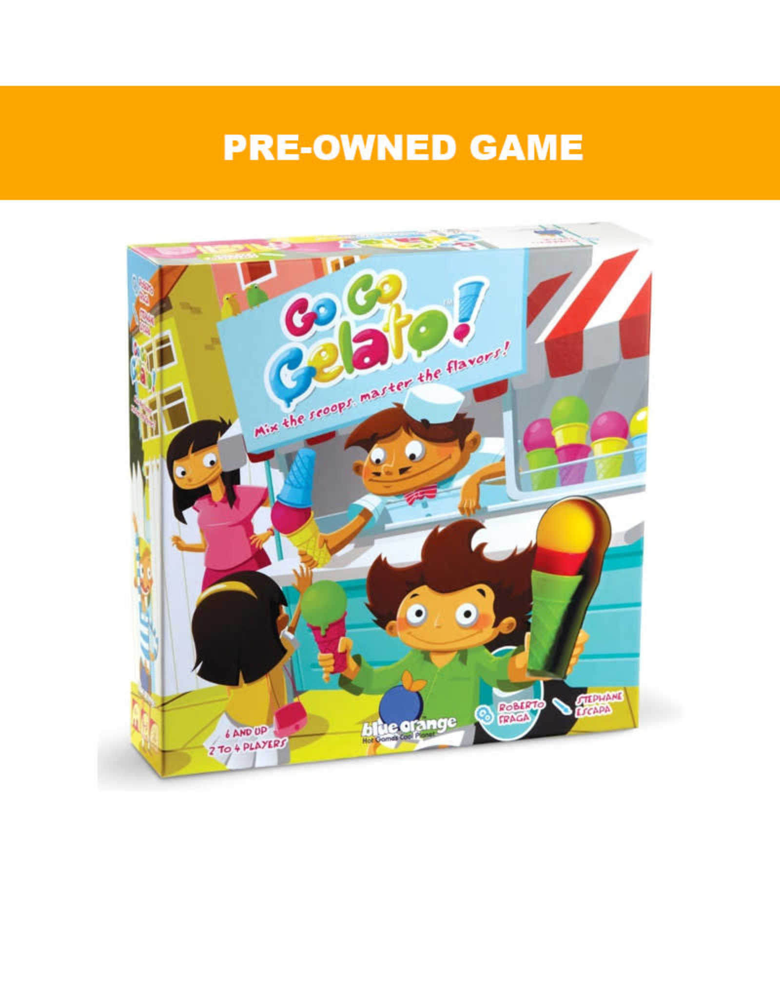Blue Orange Games (Pre-Owned Game) Go Go Gelato