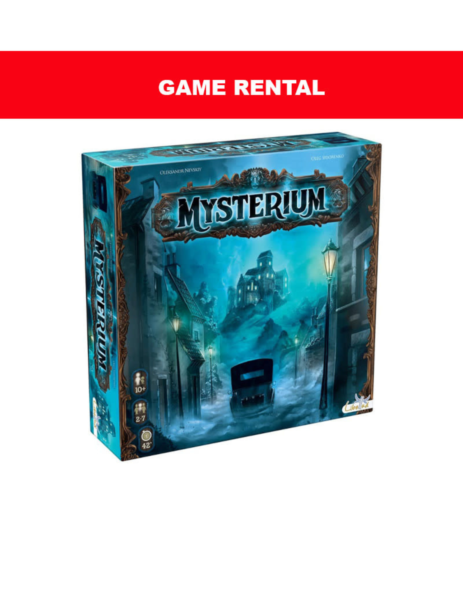 (RENT) Mysterium for a Day. Love It! Buy It!