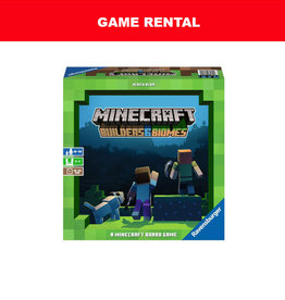 Ravensburger (RENT) Minecraft Builders and Biomes  for a Day. Love It! Buy It!