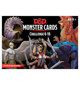 Gale Force 9 D&D RPG: Monster Cards - Challenge 6-16 Deck (125 cards)