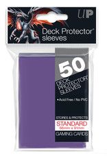 Deck Protectors: (50) Purple
