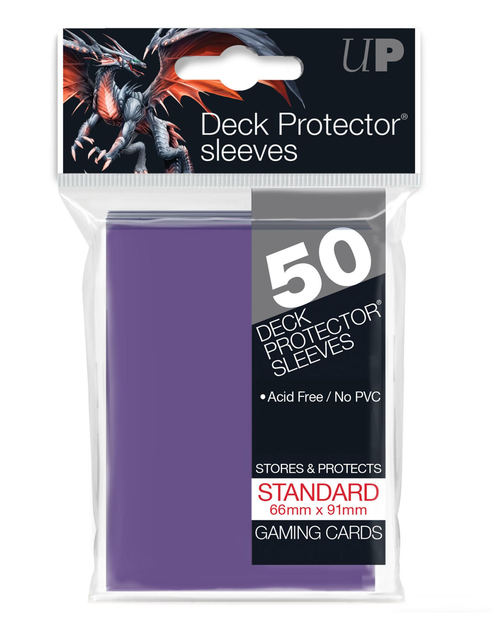 Sleeves: (50) Purple