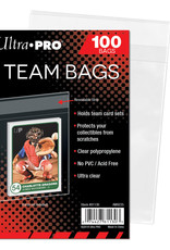 Team Bags Resealable (100) Clear