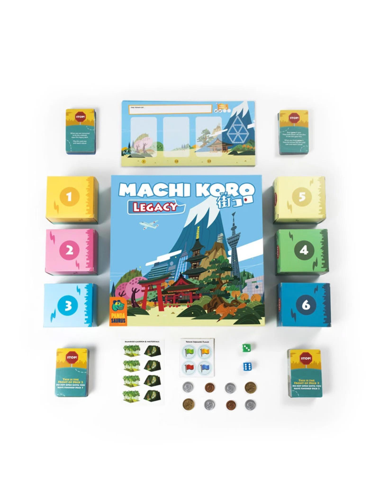 Pandasaurus Machi Koro Legacy