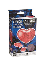 University Games 3D Crystal Heart Red Puzzle 45 PCS
