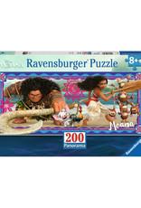 Ravensburger Moana's Adventure Puzzle 200 PCS Panorama
