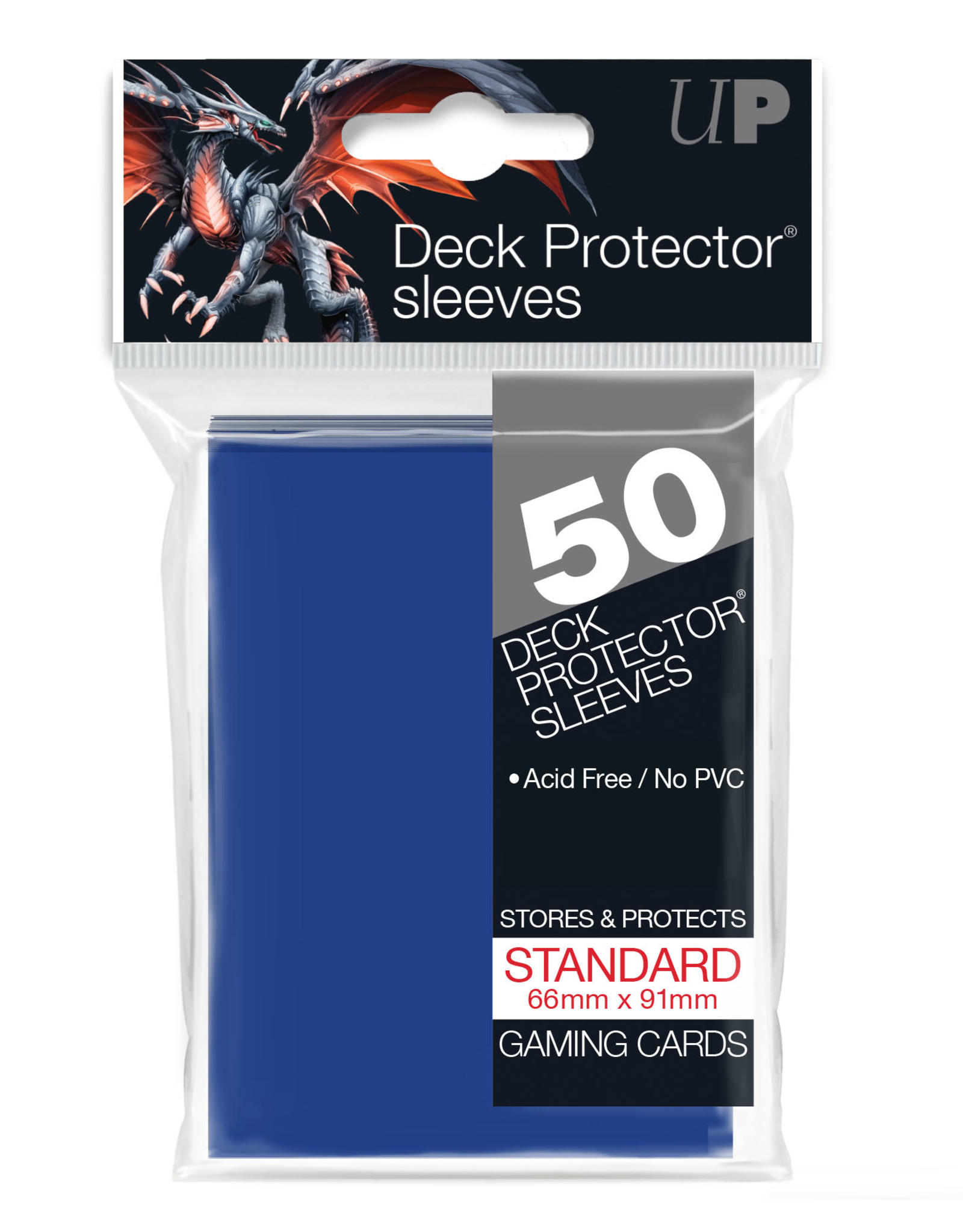 Deck Protectors: (50) Blue