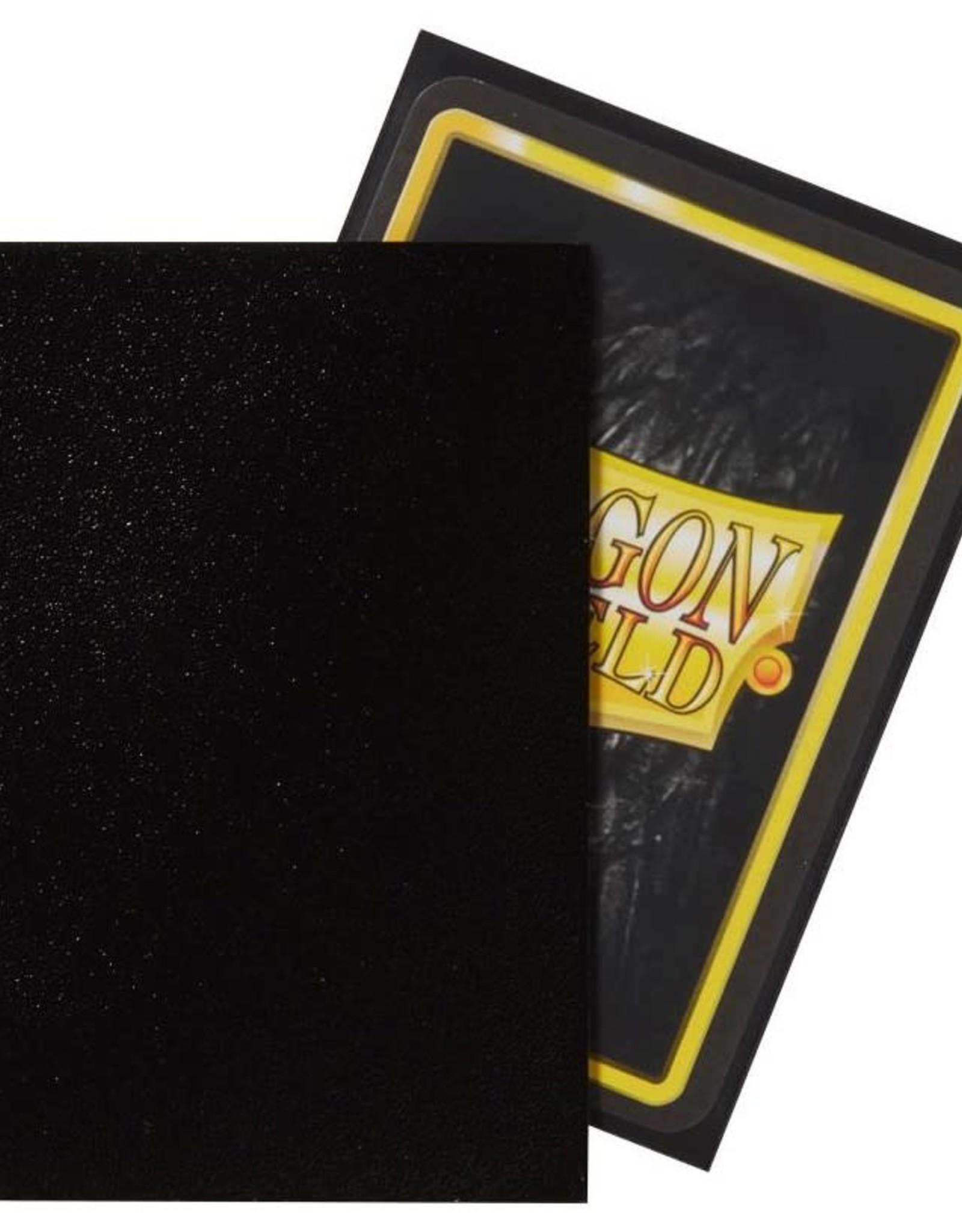 Arcane Tinmen Deck Protectors: Dragon Shield Non-Glare Matte (100) Black